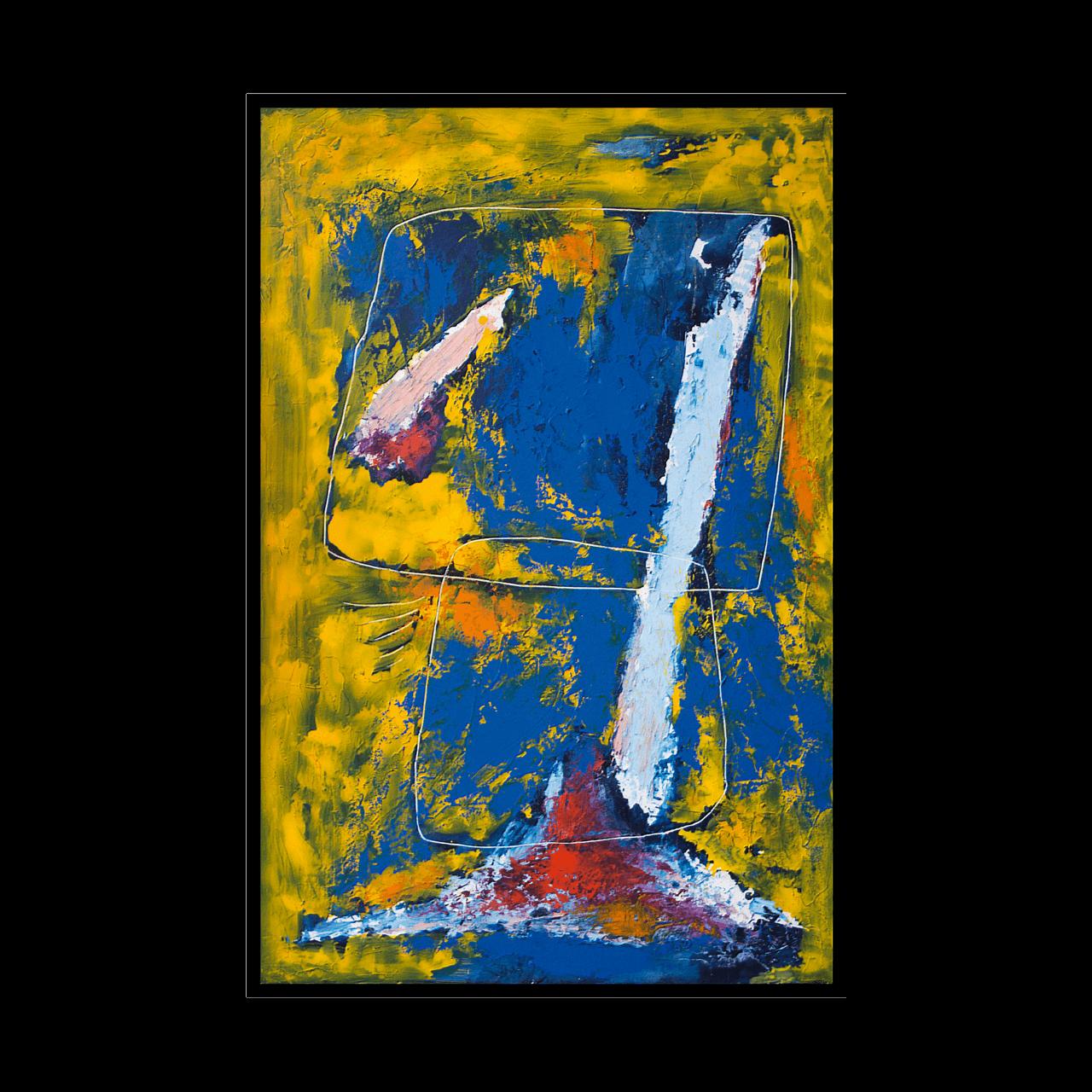 quadro dipinto olio Mario Pavesi pittura artista reggiano catene