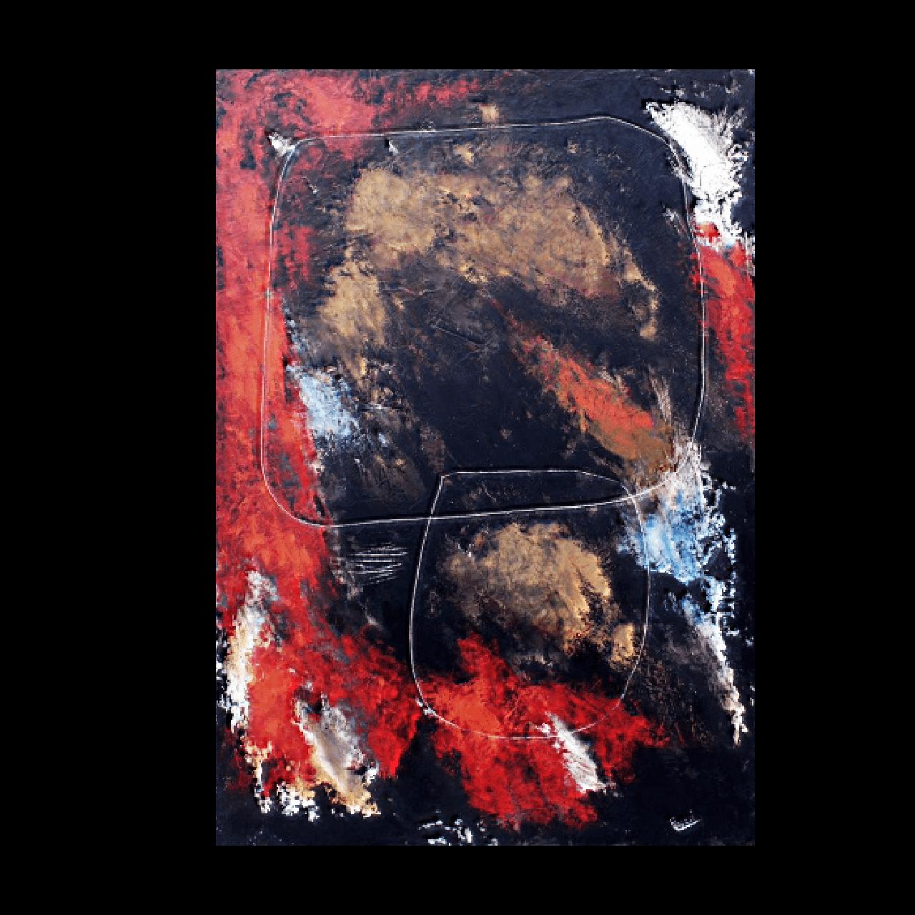 quadro dipinto olio Mario Pavesi pittura artista reggiano interiori equilibri
