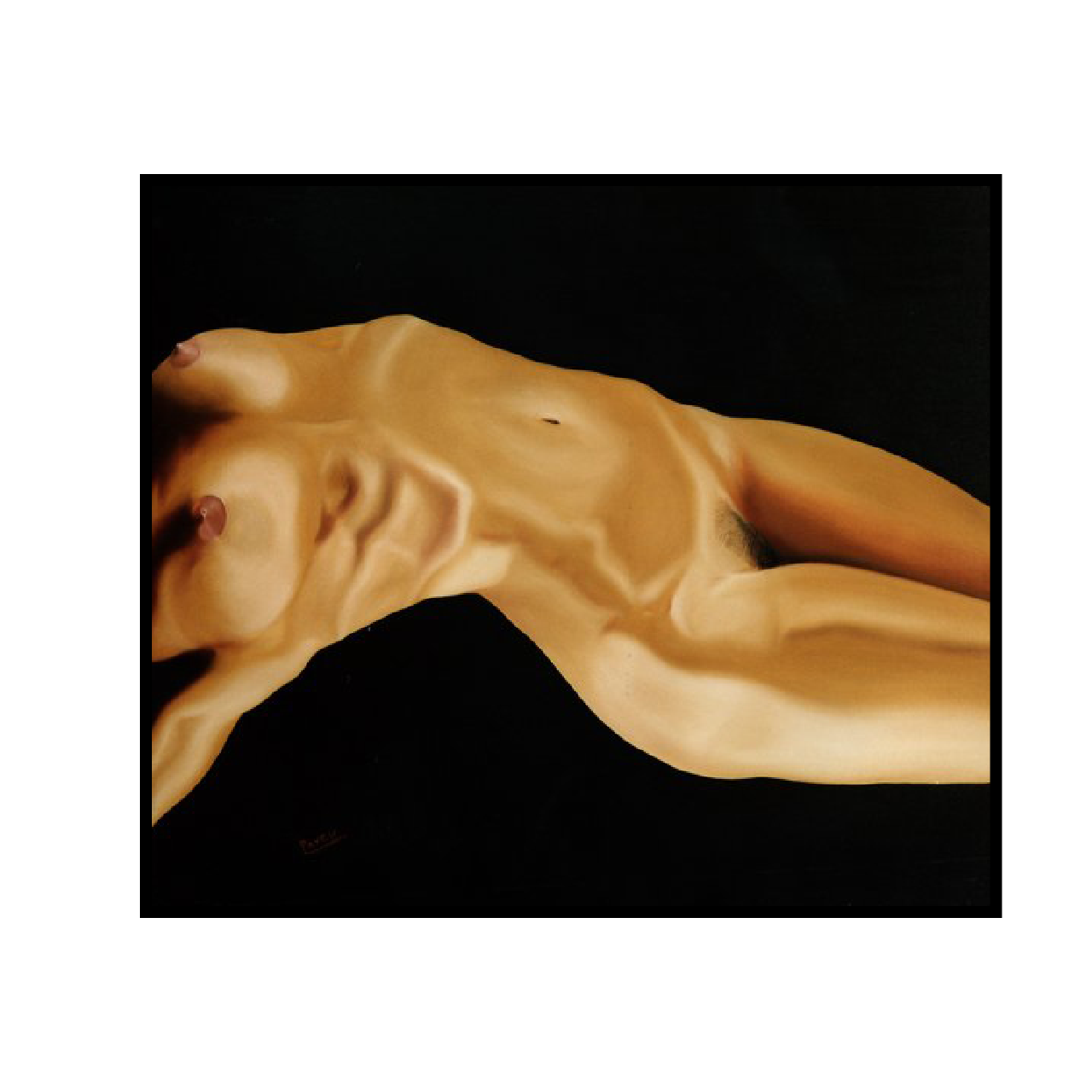 mario pavesi italian sculptur painter female body naked woman