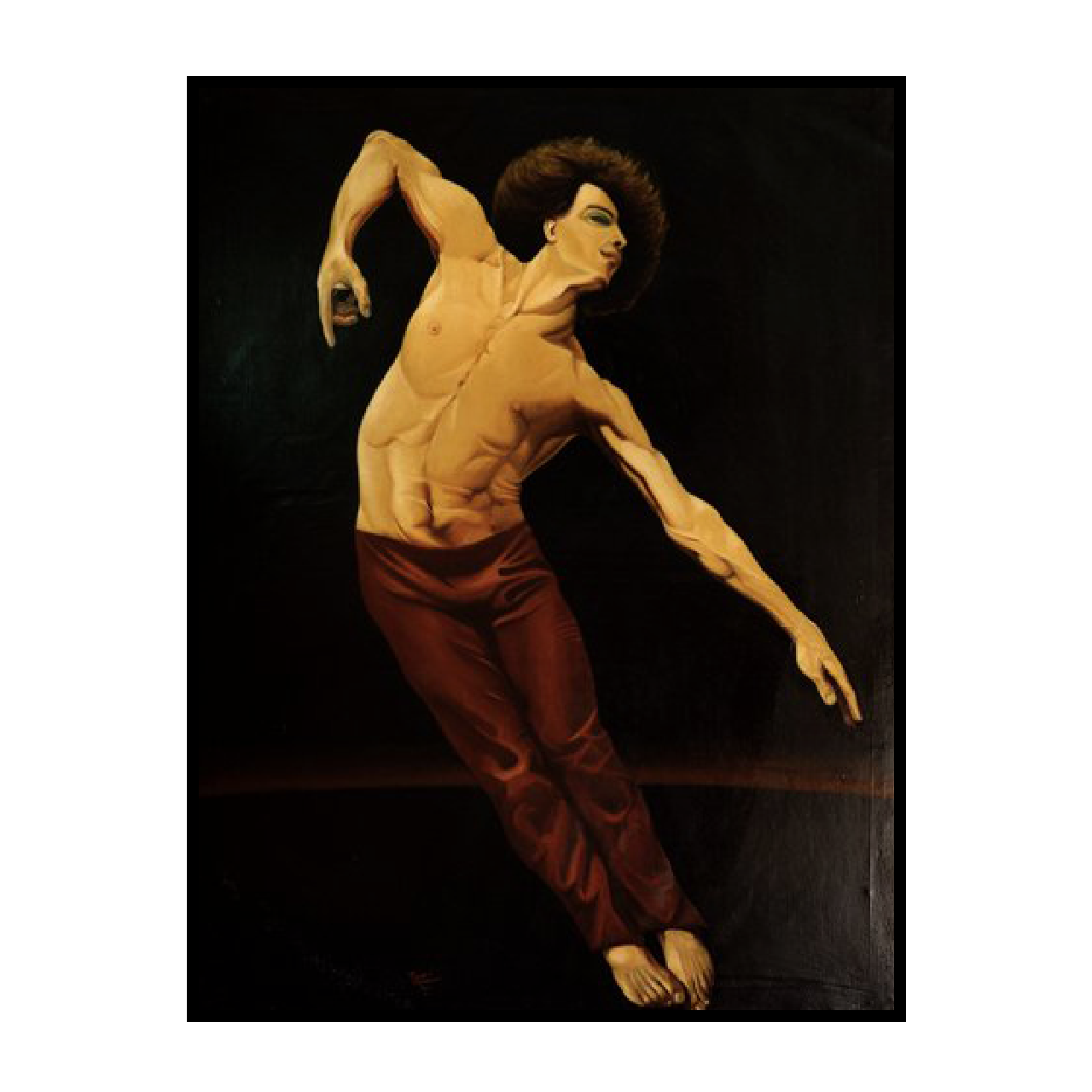 mario pavesi italian sculptur painter dancer velature