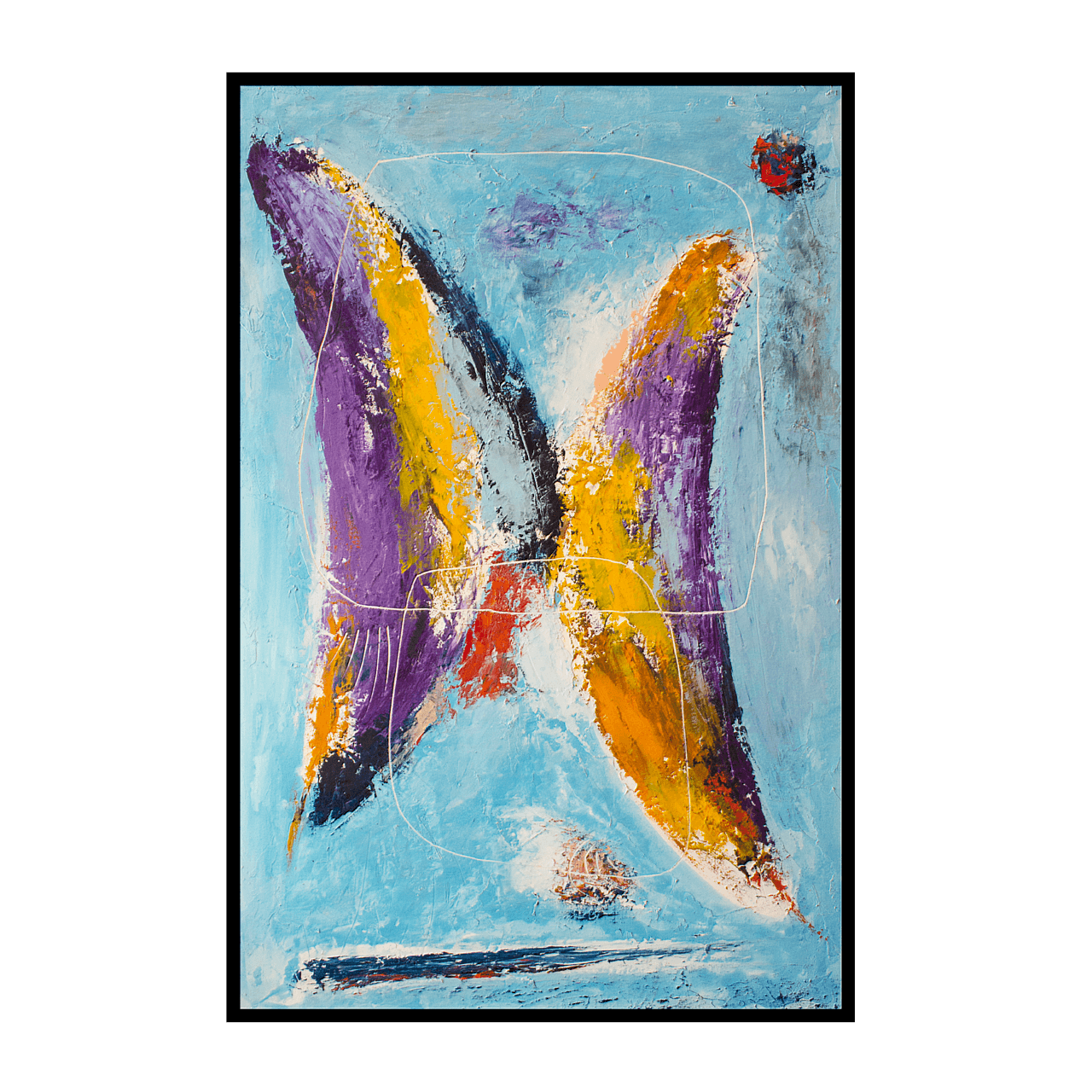 mario pavesi italian sculptur painter common places butterfly
