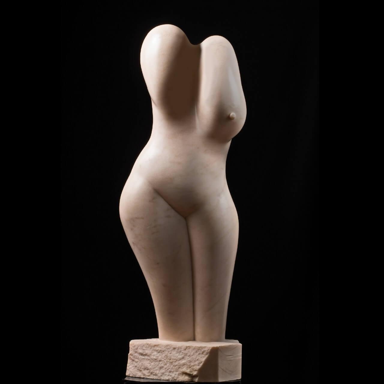 mario pavesi italian sculptur painter bronze female woman body naked