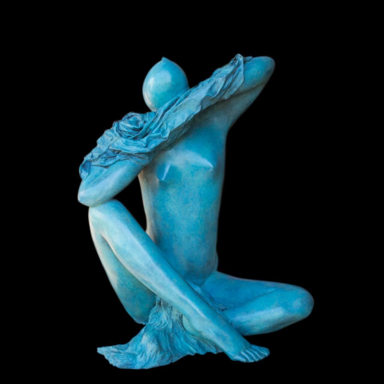 mario pavesi italian sculptur painter female Woman
