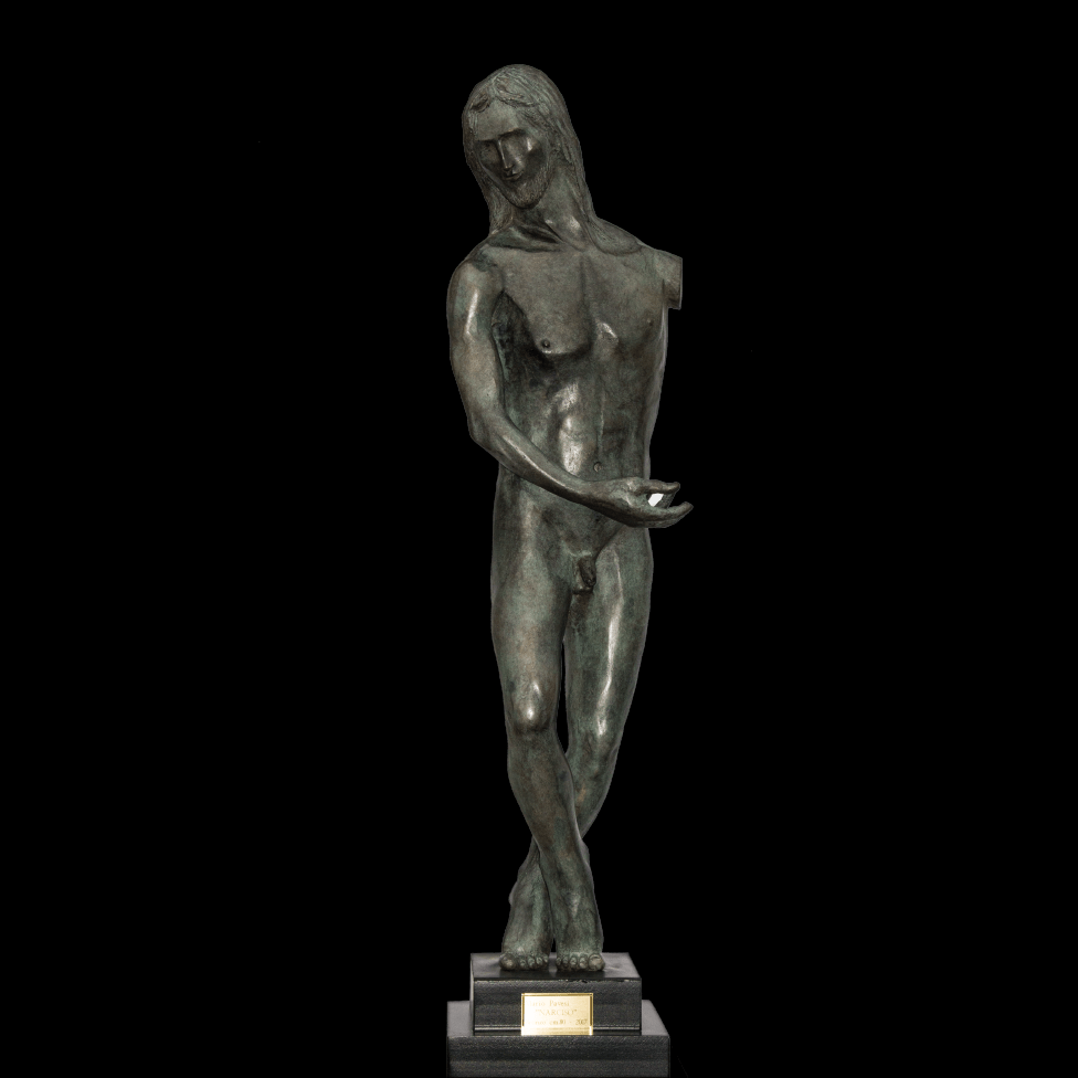 mario pavesi sculptur painter male bronze