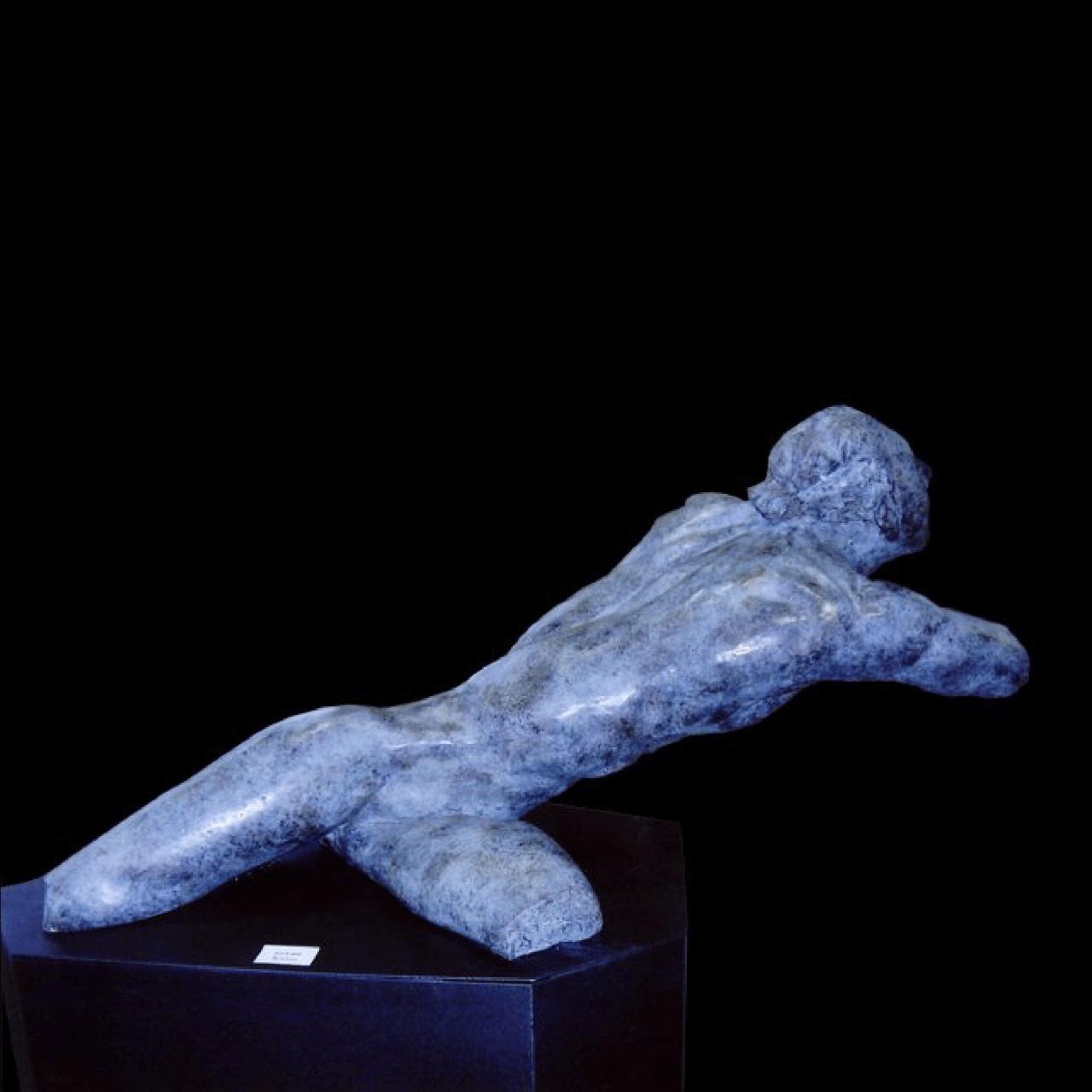 mario pavesi italian sculptur painter male body